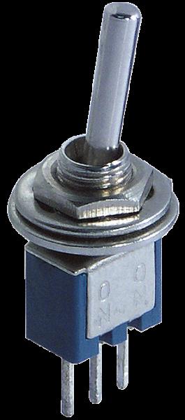Micro-Kippschalter McPower, 250V/1A, 3-polig, 2 Stellungen: EIN / EIN