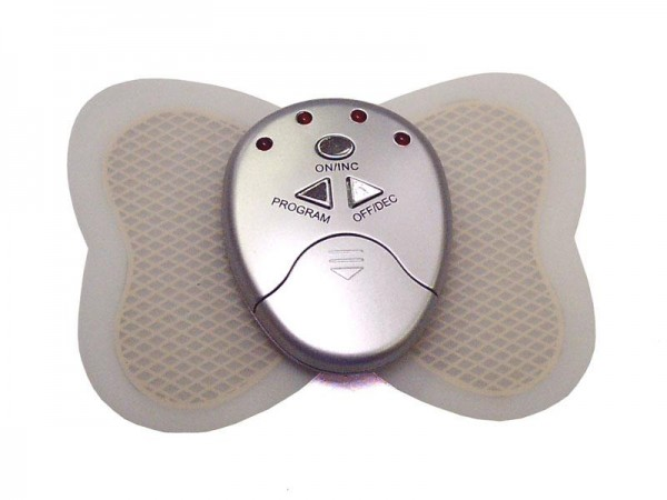 Massagegeräte Butterfly Massage Pad mit 6 Fitness Programme mit Batterie