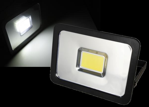LED-Außenstrahler McShine ''Slim'' 50W, IP44, 3.750 lm, 4000K, neutralweiß