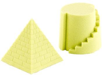 Playtastic Kinetische Sand-Knete Kinetischer Sand fein gelb 500g