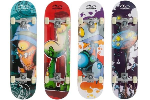HUDORA Skateboard Instinct / ABEC 1 / 79x23cm / Komplettboard