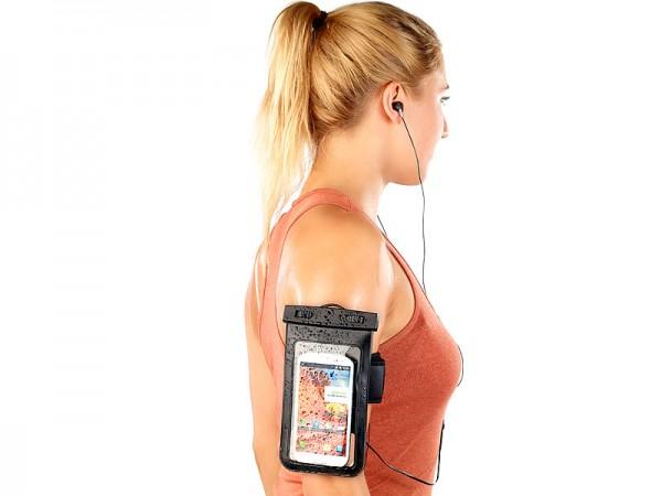 Wasserdichte Smartphone-Tasche mit Kopfhörer-Eingang bis 4,0 Zoll