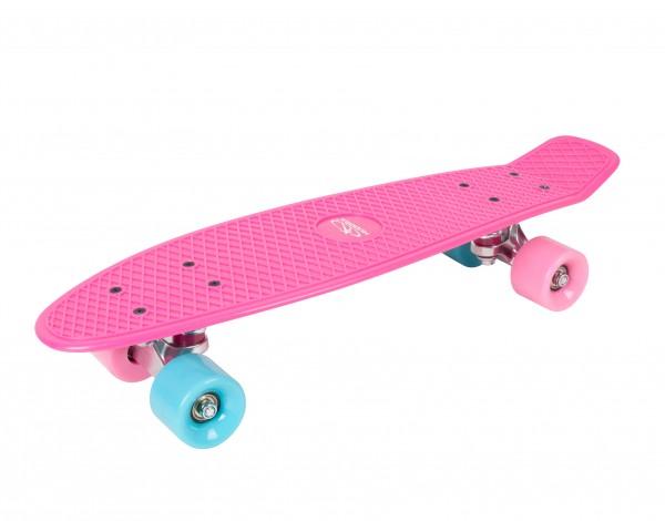 Hudora Skateboard Retro Skate Wonders / Komplettboard / Rosa