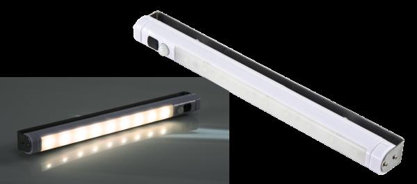 LED-Unterbauleuchte McShine, 9 SMD LED, 80 lm, Bewegungsmelder, warmweiß