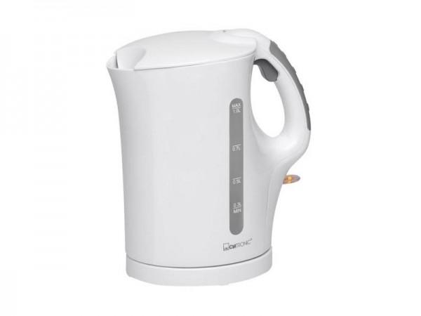 Wasserkocher schnurlos Clatronic WK 3462 Weiß