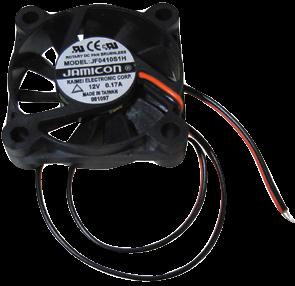 LŸüfter McPower, 40x40 mm, 12 V= Kunststoff, 90 mA, 6.000 rpm, 27 dBa