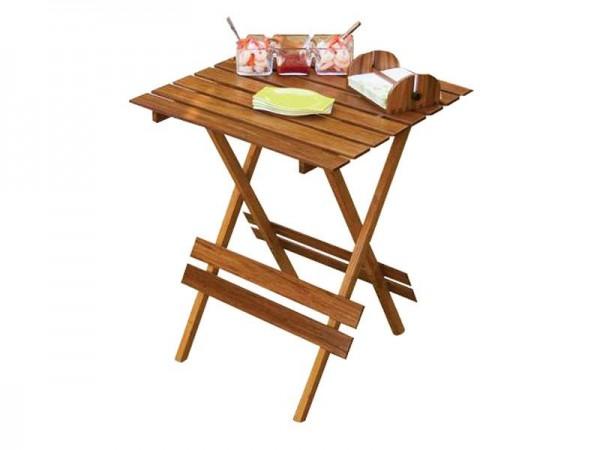 MK Bamboo HELSINKI - Einklapbarer Tisch 60x60cm