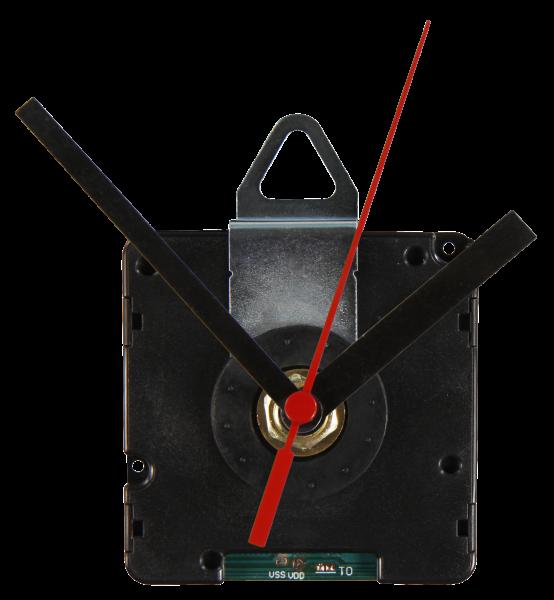 Funk-Quarzuhrwerk ''FQU-5005'', inkl. 3 verschiedenen Metall-ZeigersŠtzen, springend
