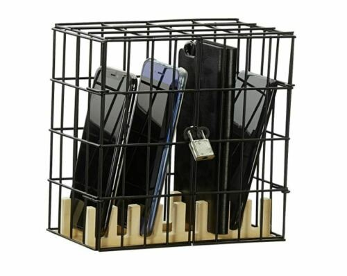 Handy Gefängnis Holz Metall