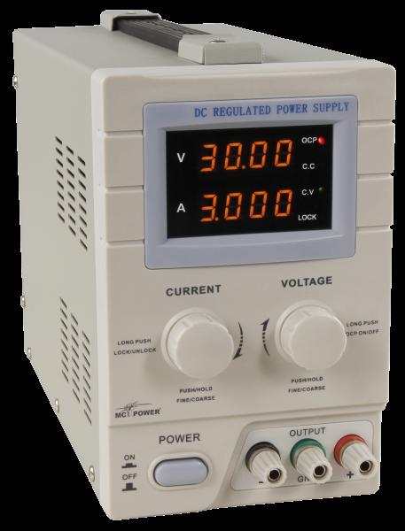 McPower Labornetzgerät ''LBN-330'' 0-30V, 0-3A, LED-Display NEU