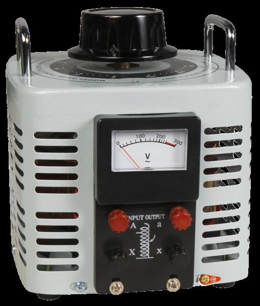 Ringkern-Stelltrafo McPower ''V-8000'', 0-250 V, 8 A, 2.000 W, NICHT galvanisch getrennt