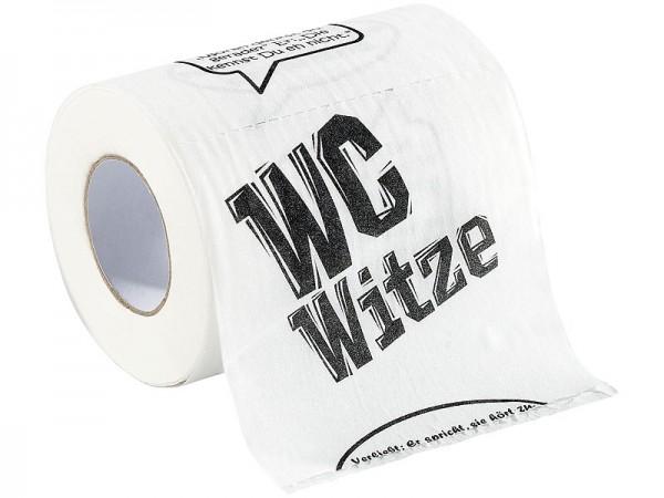"infactory WC Papier: Toilettenpapier ""Witze"", 2 Rollen"