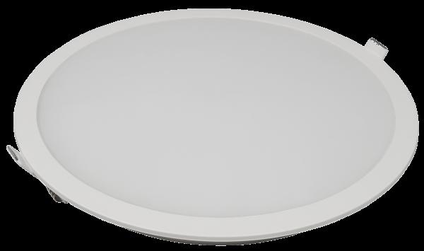LED-Panel McShine ''LP-225IP'' 18W, 225mm-Ø, 1440lm, IP54, 3000K, warmweiß