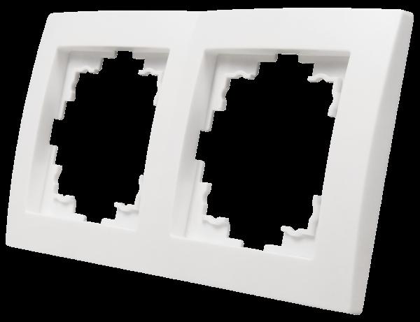 Rahmen McPower ''Flair'', 2-fach, weiß