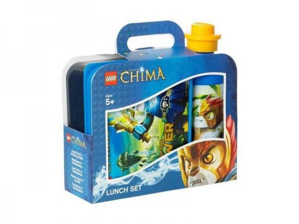 LEGO Chima Lunch Box Set 2 Teilig Kinder Schule Kita Frühstück Legend Hero
