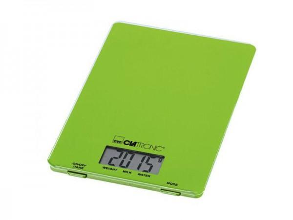 CLATRONIC KW 3626, Küchenwaage, 5 kg, Grün