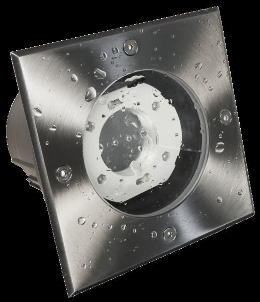 Bodenleuchte McShine ''BL-05Q'' IP65, GX53 Fassung, 140x140x115mm, eckig