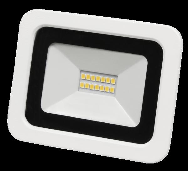 LED-Außenstrahler McShine ''SMD-Slim'' 10W, 700Lumen, 4000K, neutralweiß, IP44