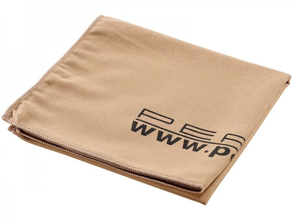 Extra saugfähiges Mikrofaser-Handtuch 80 x 40 cm, braun