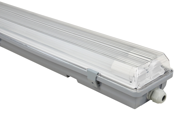 LED Feuchtraumleuchte McShine ''FL-23'' IP65, 2x2.400lm, 4000K, 150cm, neutralweiß