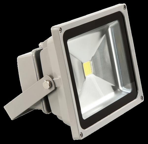 LED-Außenstrahler McShine, 30W, IP44, 2.700 lm, 4000K, neutralweiß