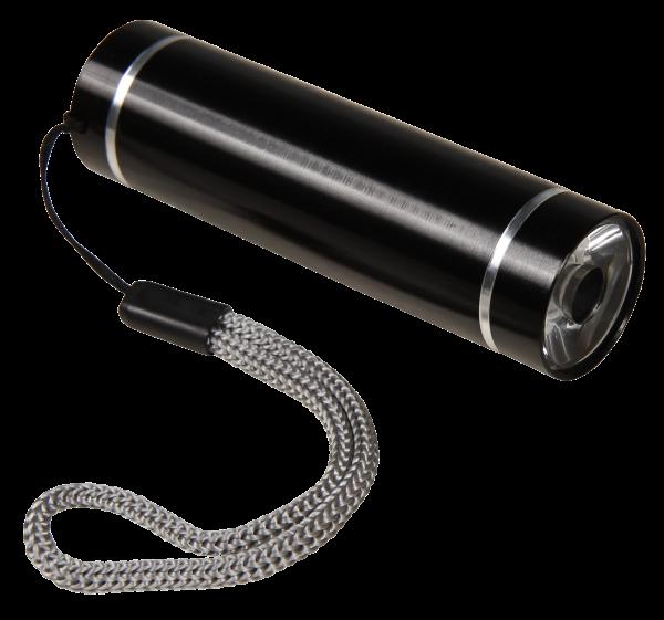 LED UV Taschenlampe / GeldscheinprüŸfer McShine, 90lm, Aluminium