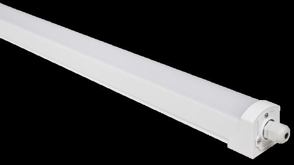 LED Feuchtraumleuchte McShine ''FL-24'', IP65, 3.000 lm, 4000K, 120cm, neutralweiß