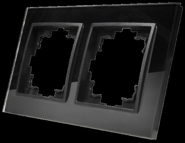 Glas-Rahmen McPower ''Flair'', 2-fach, schwarz