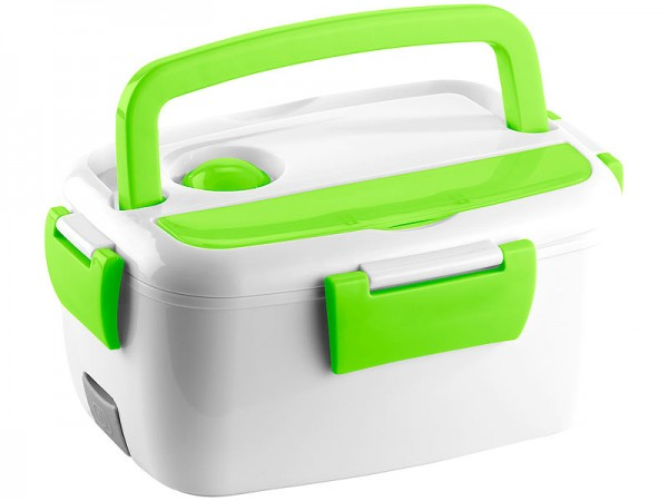 Thermo-Lunchbox, mit 2 Fächern & Löffel, 35 W