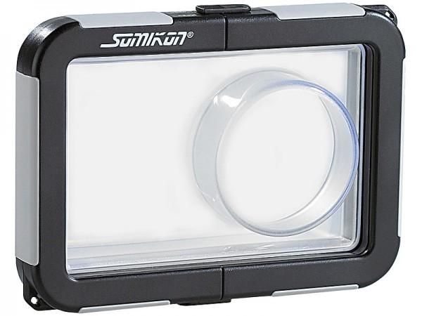 Kamera-Tauchgehäuse mit Objektivführung (max. 99 x 64 x 25 mm)