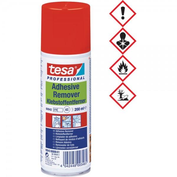 tesa Klebstoffentferner Spray 200ml vielseitig Bürowaren Schreibwaren Etiketten