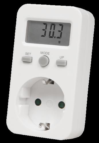 Energiekosten-Messgerät McPower, bis zu 3600W, max. 999,9kWh, LC-Display