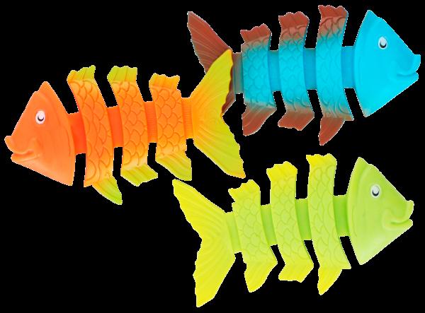 Tauchspielzeug Fische, Set 3teilig, PVC