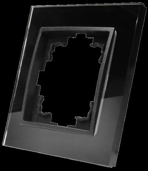 Glas-Rahmen McPower ''Flair'', 1-fach, schwarz