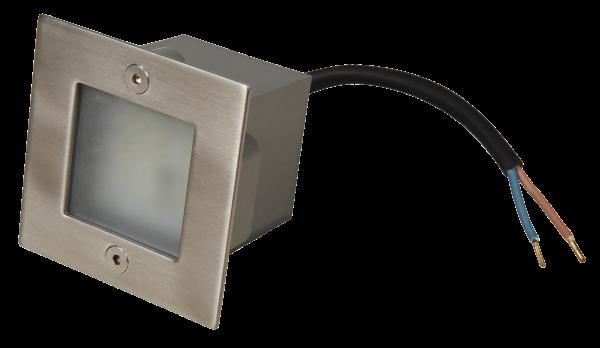 LED-Einbauleuchte McShine ''LER-9W'', weiß, 70x70mm