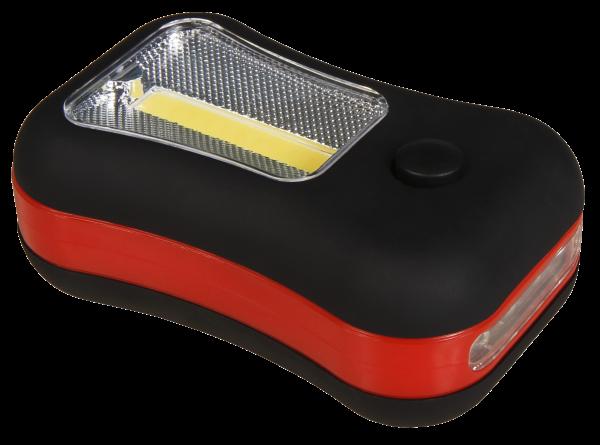 LED-Arbeitsleuchte McShine ''AL-340'', 3W COB + 4 LEDs, Magnet und Haken, 200 lm