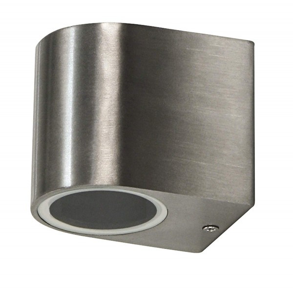 Wandleuchte McShine ''Oval'', Aluminium, IP44, 1-flammig