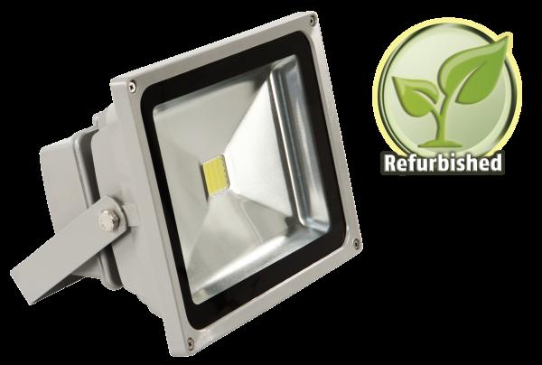 Refurbished LED-Außenstrahler McShine, 30W, IP44, 2.700 lm, 4000K, neutralweiß
