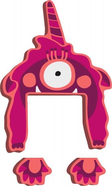 ABC Buchstaben Monster Gaga