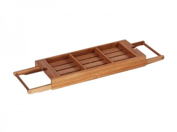 MK Bamboo LIVERPOOL - Badewannen Ablagekasten, verstellbar