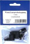 Lautsprecherstecker füŸr Kfz, Winkel schraubbar, 2er-Pack