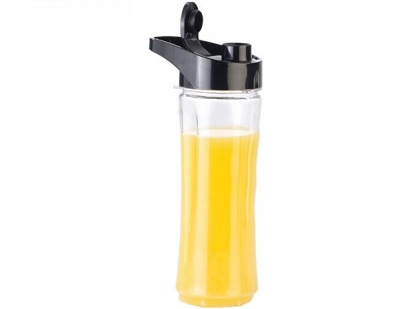 Standmixer: Ersatz-Mix-Trinkflasche für Smoothie-Maker BR-600, BPA-frei, 600 ml