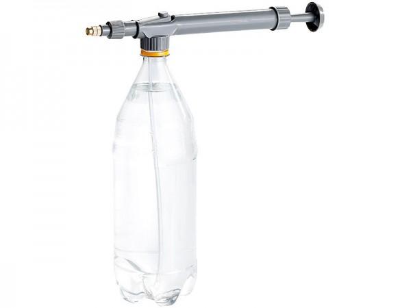 Universal-Sprühaufsatz aus Metall für PET-Flaschen