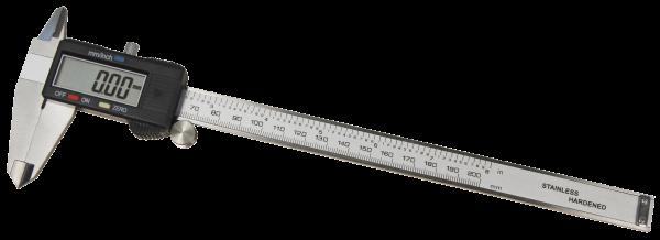 digitale Schieblehre McPower ''MS-200'' 200mm, LC-Display, mm und inch