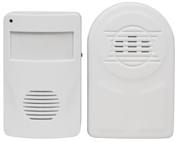Funk-Klingel McPower ''DB-36'' bis zu 30m, inkl. PIR-Sensor und Klingel