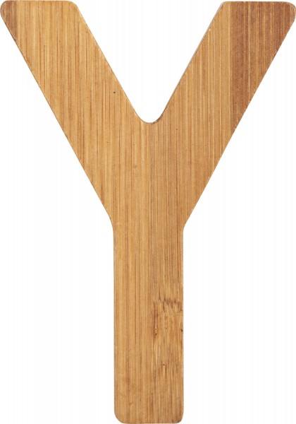 ABC Buchstaben Bambus Y