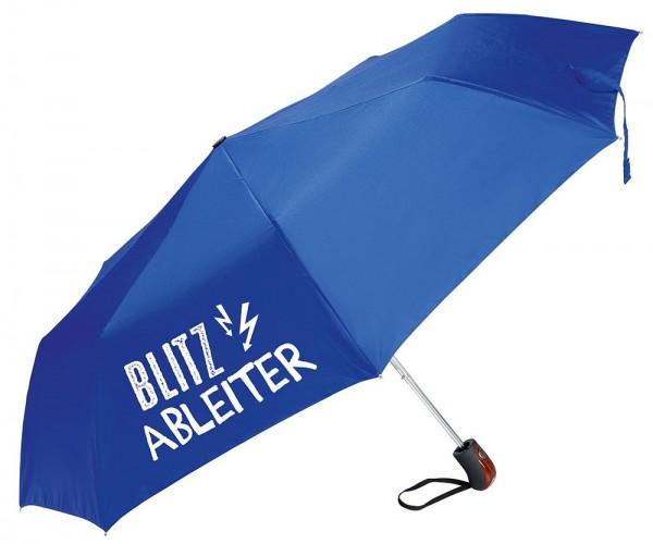 "Regenschirm ""Blitzableiter"", blau"