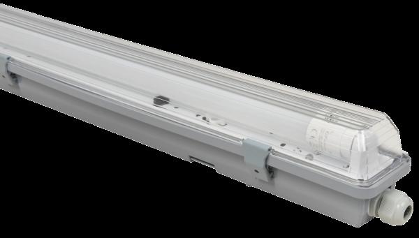 LED Feuchtraumleuchte McShine ''FL-12'', IP65, 2.400 lm, 4000K, 150cm, neutralweiß