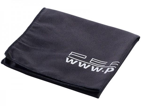 Extra saugfähiges Mikrofaser-Handtuch 80 x 40 cm, schwarz