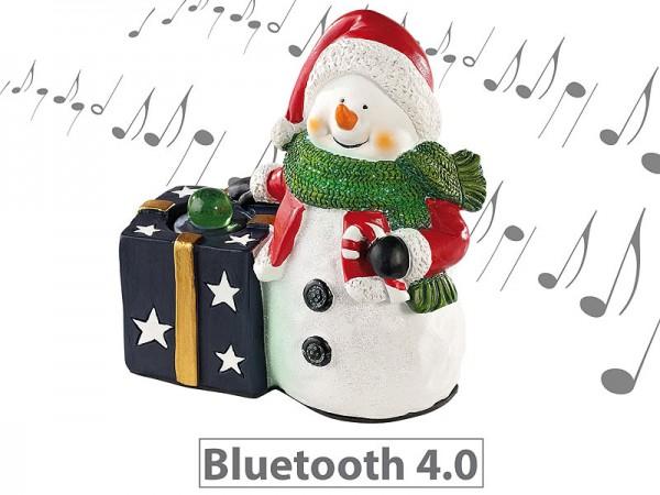"""Weihnachtlicher """"Schneemann"""" Lautsprecher mit Bluetooth, 8 Watt"""